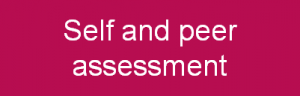 Self and peer assessment button